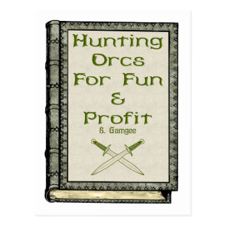 Hunting Orcs Postcard