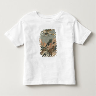 Hunting panthers from an airplane in Texas Toddler T-shirt