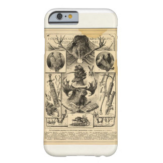 Hunting paper funda de iPhone 6 barely there