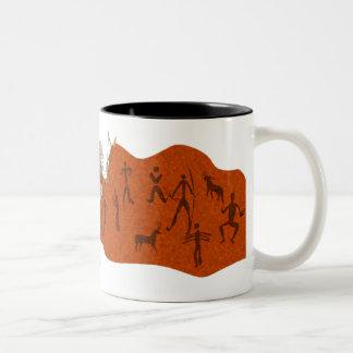 Hunting Party Two-Tone Coffee Mug