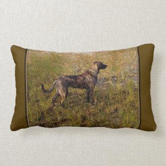 Hunting Plott Hound  Throw Pillow