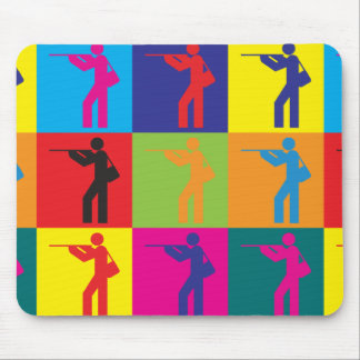 Hunting Pop Art Mouse Mats