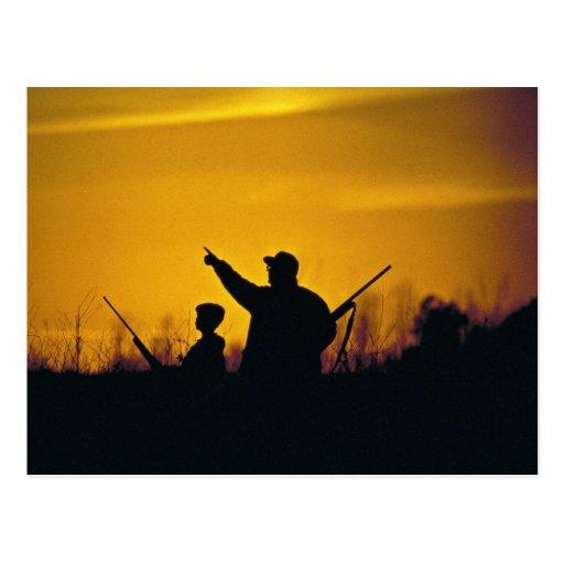Hunting Postcard