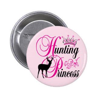 Hunting Princess Pinback Button