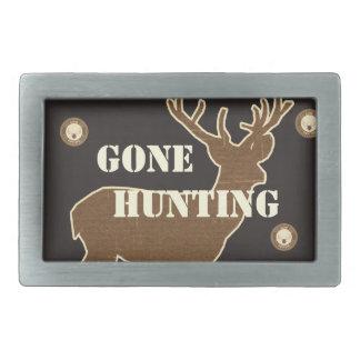 Hunting Rectangular Belt Buckle