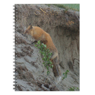 Hunting Red Fox Wildlife-supporter Notebook