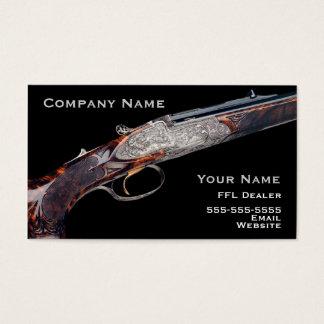 Hunting rifle business card 2