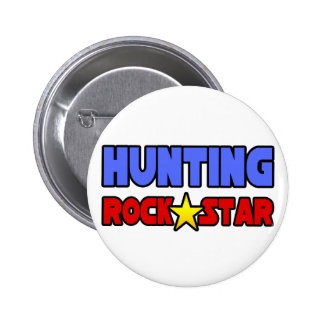 Hunting Rock Star Buttons