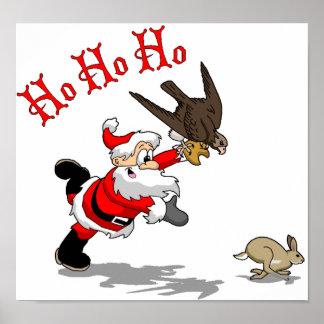 Hunting Santa Poster