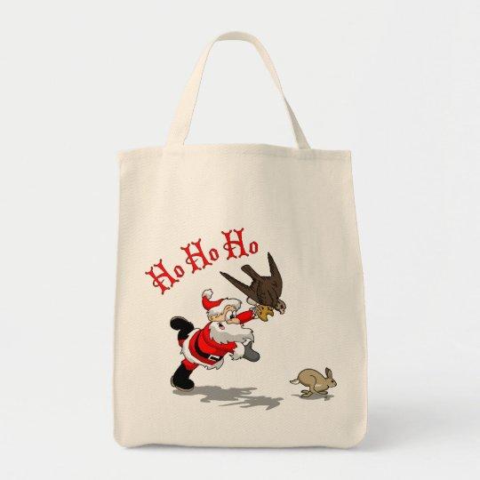 Hunting Santa Tote Bag