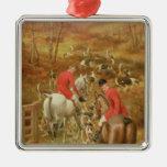 Hunting Scene, 1906 Christmas Ornament
