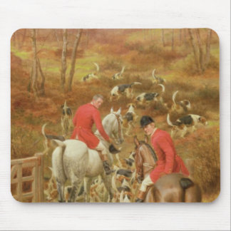 Hunting Scene, 1906 Mouse Pad