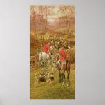 Hunting Scene, 1906 Poster