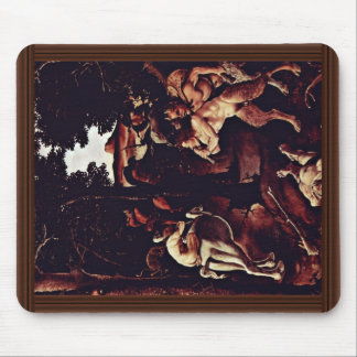 Hunting Scene Detail By Piero Di Cosimo Mouse Pad