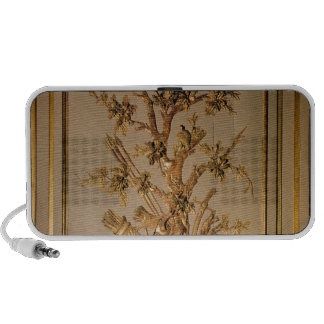 Hunting scene, wood panelling from dining room iPhone speakers