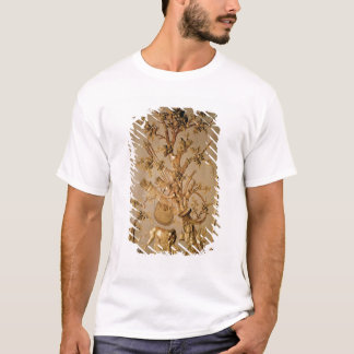 Hunting scene, wood panelling from dining room T-Shirt