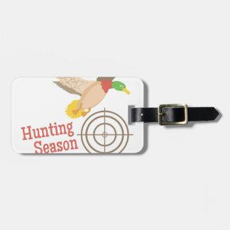 Hunting Season Bag Tag
