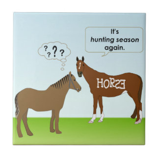 Hunting Season Ceramic Tile
