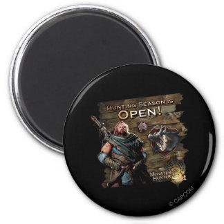 Hunting season is open! magnet