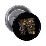 Hunting season is open! pinback buttons