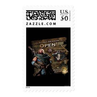 Hunting season is open! postage