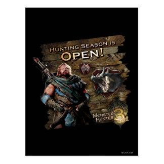 Hunting season is open! postcard
