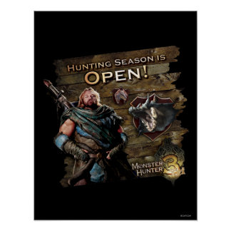 Hunting season is open! poster