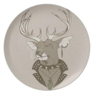 Hunting Season Melamine Plate