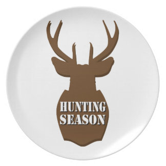 Hunting Season Party Plate