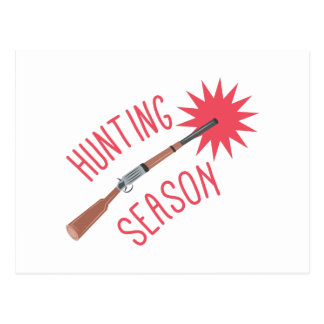 Hunting Season Postcard