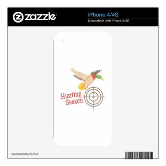 Hunting Season iPhone 4S Skin