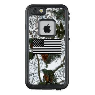 pretty nice 0b2ff b9c44 Hunting Snow Camouflage Flag LifeProof FRĒ iPhone 6/6s Case