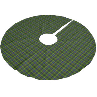Hunting Stewart Tartan Brushed Polyester Tree Skirt