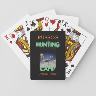 Hunting Stuff Playing Cards