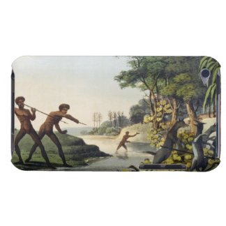 Hunting the Kangaroo, aborigines in New South Wale iPod Case-Mate Case