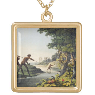Hunting the Kangaroo, aborigines in New South Wale Jewelry