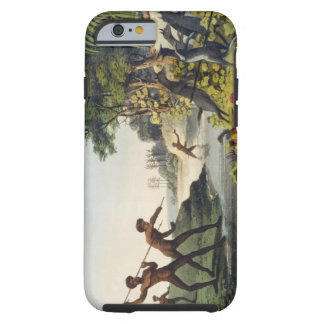 Hunting the Kangaroo, aborigines in New South Wale Tough iPhone 6 Case