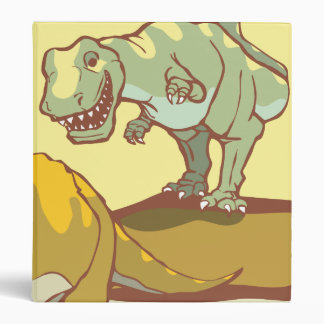 Hunting the Triceratops 3 Ring Binder
