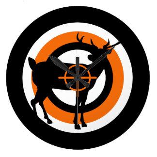 Hunting Time Wall Clock