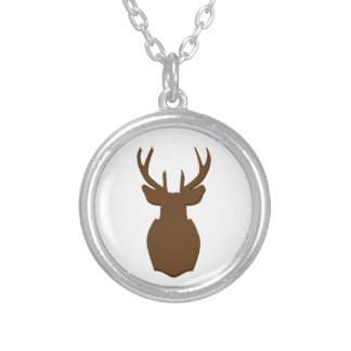 Hunting Trophy Silhouette Necklace