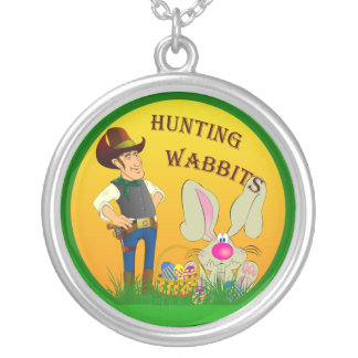 Hunting Wabbits Easter Necklace