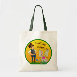 Hunting Wabbits Easter Tote Bag