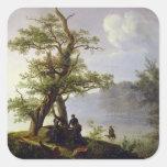 Hunting Waterfowl, 1828 Sticker