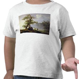 Hunting Waterfowl, 1828 T-shirt