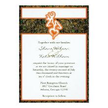Hunting Wedding Invitation