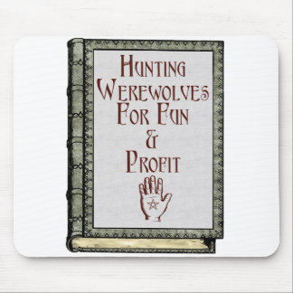 Hunting Werewolves Mouse Mats