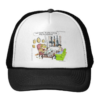 Hunting With Automatics Funny Gifts & Tees Trucker Hat