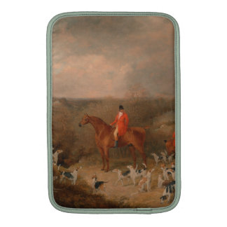 Hunting With Dogs and Horse Famous Oil Painting MacBook Air Sleeves