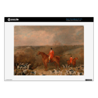 Hunting With Dogs and Horse Famous Oil Painting Acer Chromebook Skin