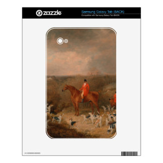 Hunting With Dogs and Horse Famous Oil Painting Samsung Galaxy Tab Skin